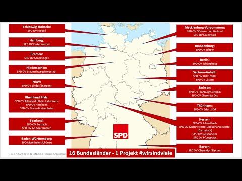 SPD 16 Bundesländer 1 Projekt #wirsindviele Trailer