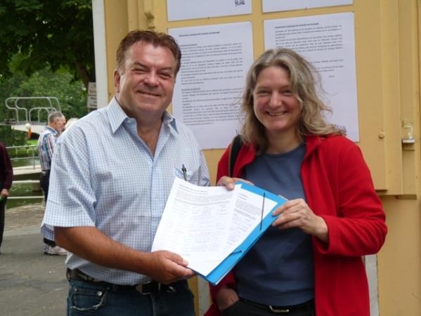 Walter Schmidt und Karin Dobelmann