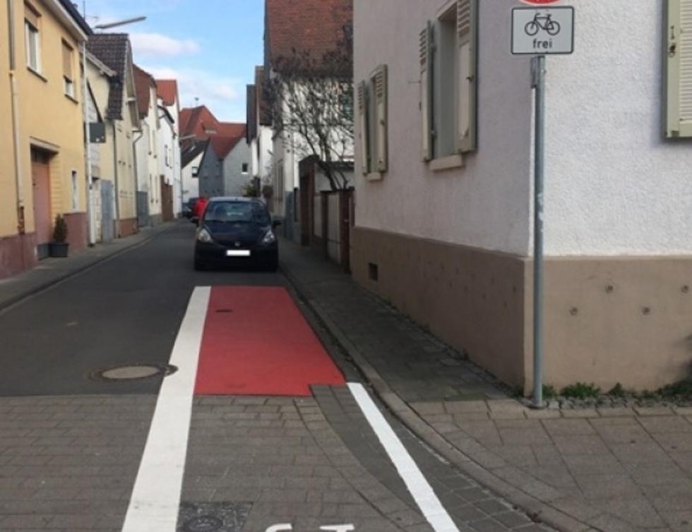 Radweg Gute Garten Straße Arheilgen