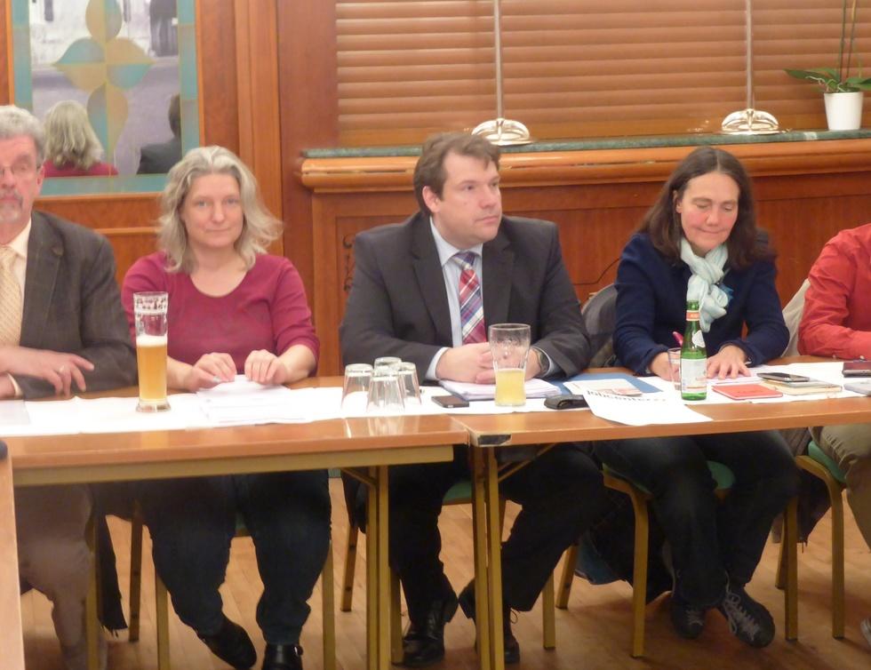 Horst Adalbert Härter, Karin Dobelmann, Hanno Benz, Mechthild Benz, Tim Sackreuther