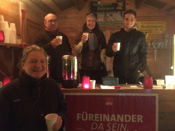 SPD-Arheilgen auf dem Weihnachtsmarkt