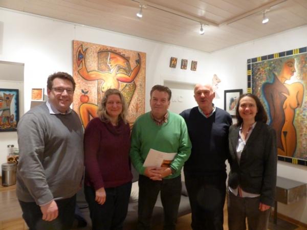 Hanno Benz, Karin Dobelmann, Walter Schmidt, Peter Kunkel, Mechthild Benz