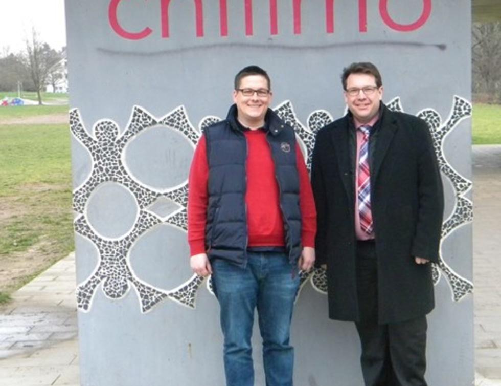 Moritz Röder und Hanno Benz