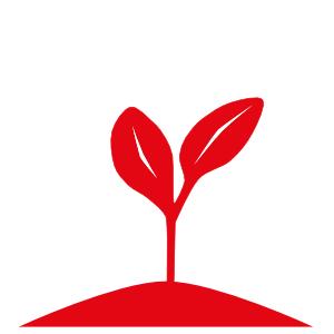 Jusos Darmstadt Nachhaltigkeit Icon Sätzling