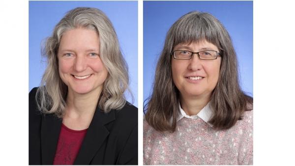 Karin Dobelmann und Birgit Kornnagel