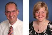 Wilfried Lewandowsky und Samantha Härter