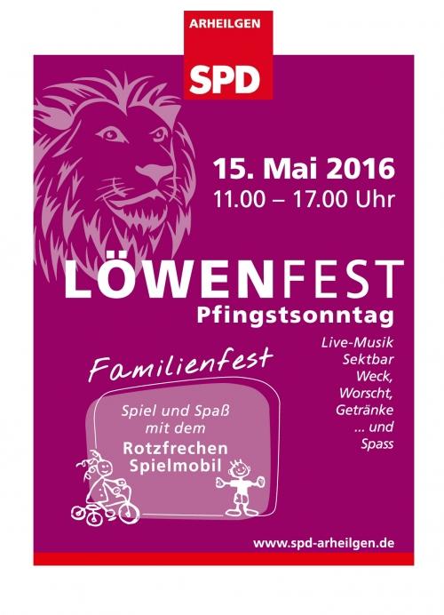 Flyer Loewenfest