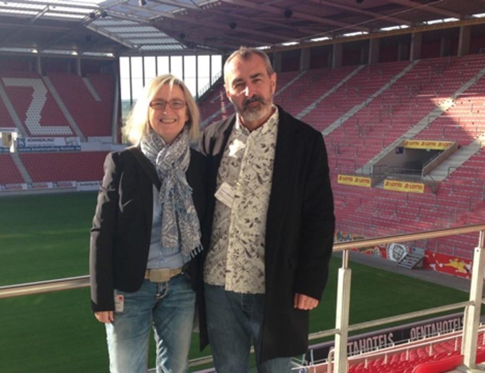 Ulrike Poth und Dr. Walter Reimund