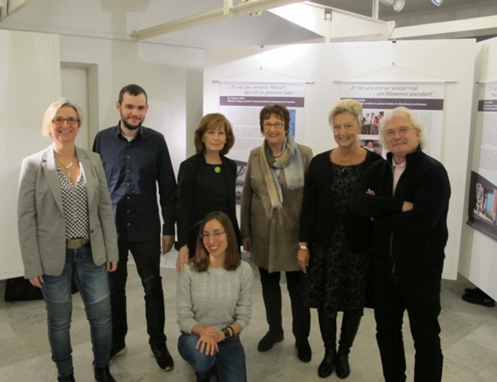 Gruppenbild Ulrike Poth, Tim Huß, Ursula Knechtel, Yasemin Aslan, Brigitte Zypries, Dagmar Metzger und Udo Grabow