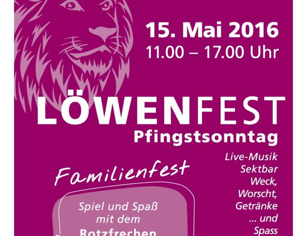 Einladung Löwenfest
