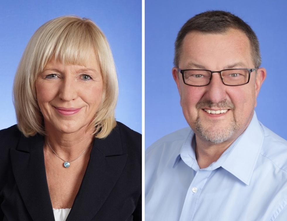Sabine Heilmann und Michael Siebel