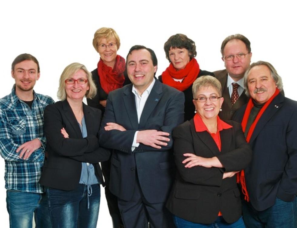Gruppenfoto SPD Kranichstein für die Kommunalwahl 2016