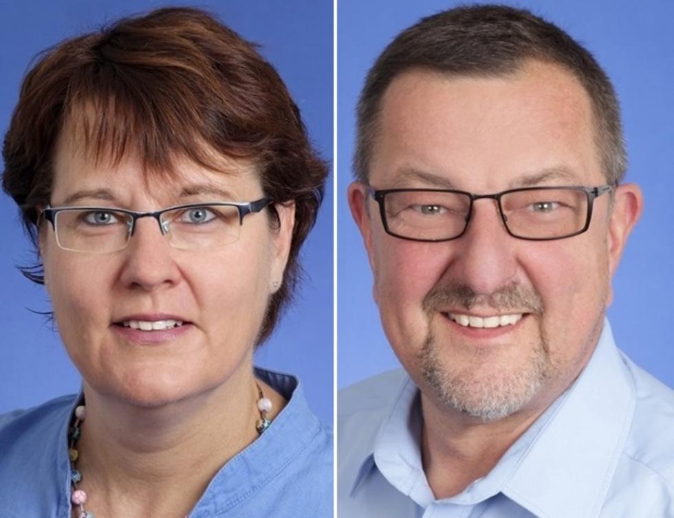 Katrin Kosub und Michael Siebel