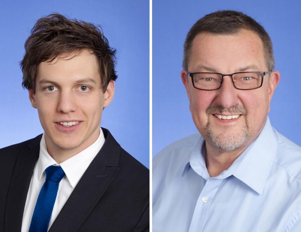 Oliver Lott und Michael Siebel