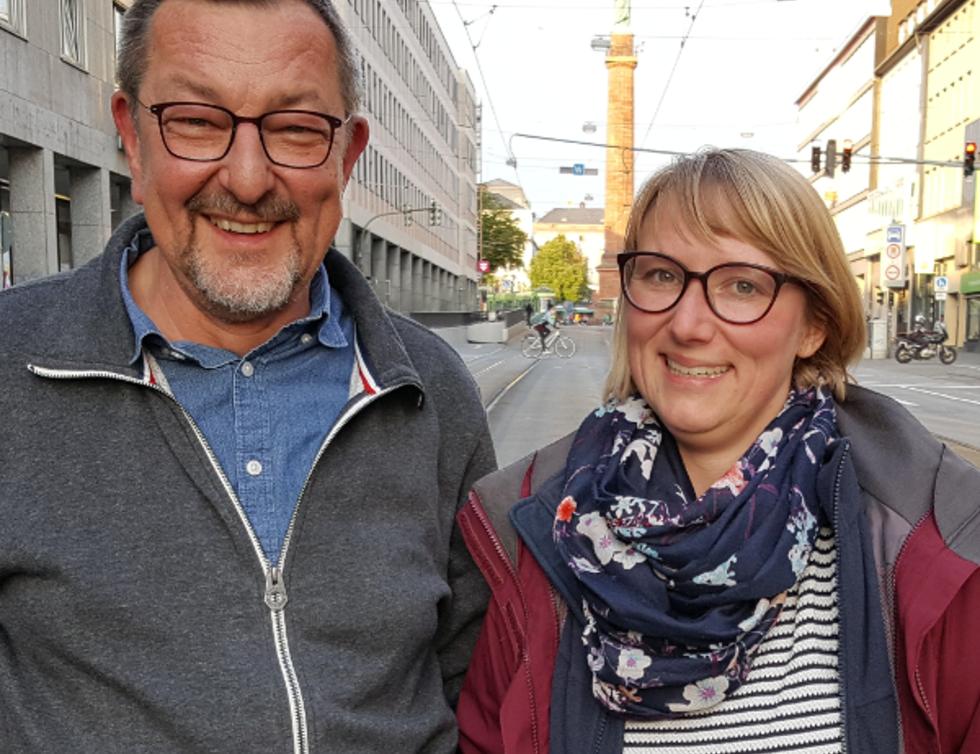 Michael Siebel und Anne Marquardt