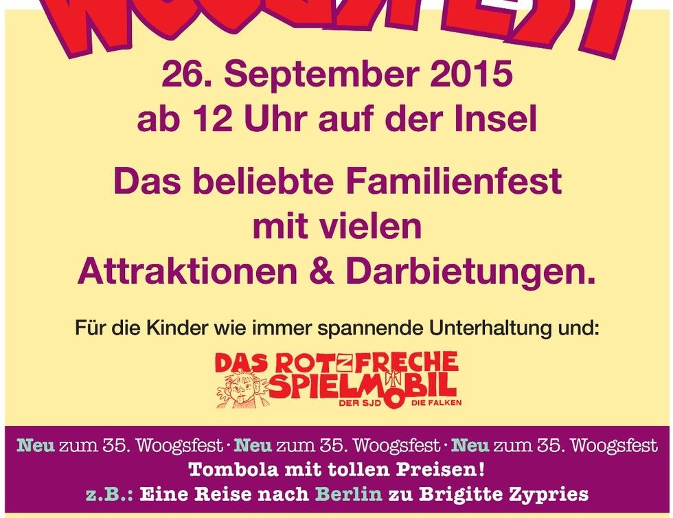 Plakat Woogsfest