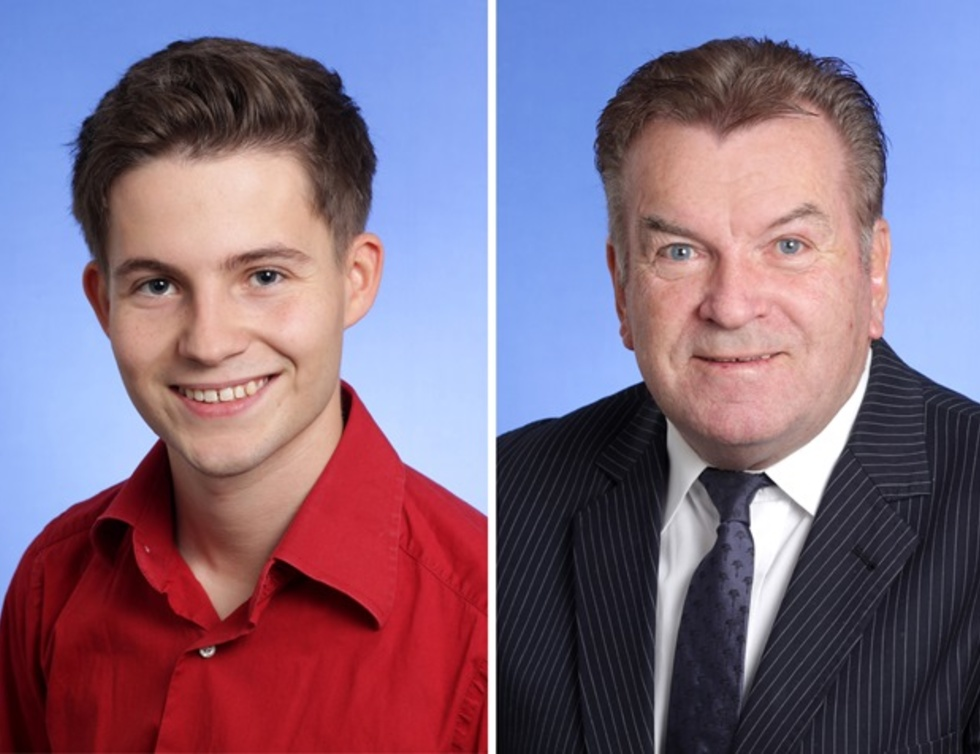 Tim Sackreuther und Walter Schmidt