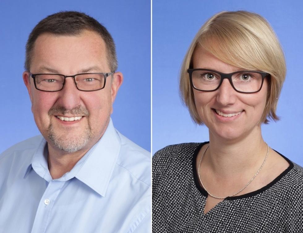 Michael Siebel und Anne Maquardt