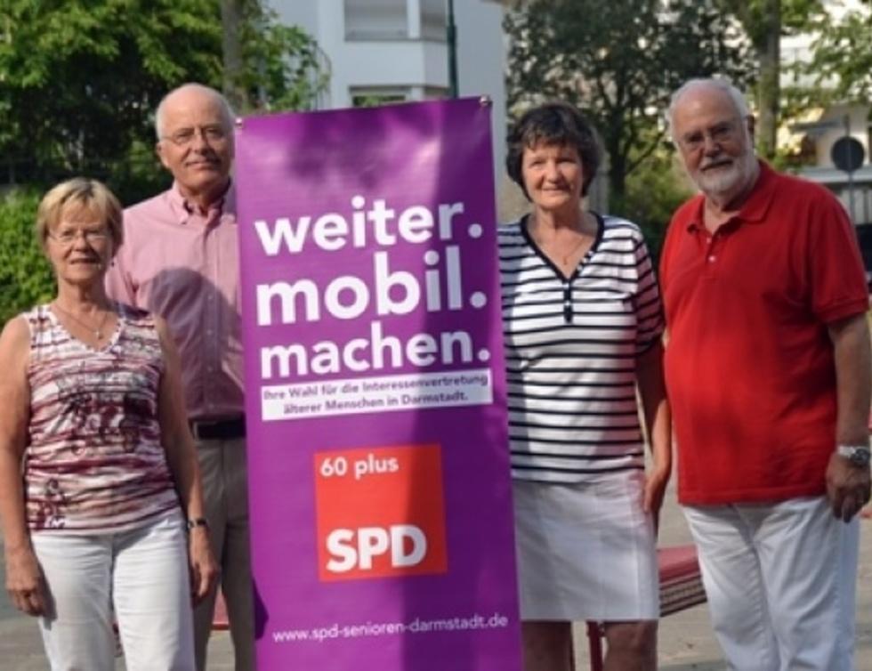 Edelgard Selmikat, Günter Büttner, Ortrud Mucha und Dieter E. Hübner