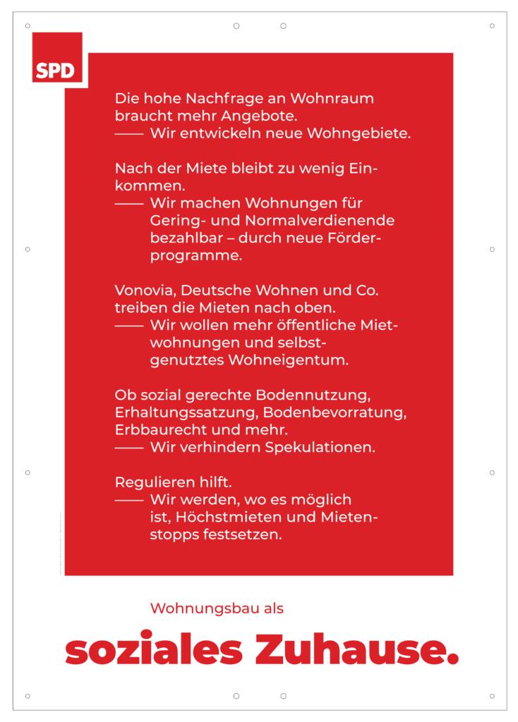 "Plakat ""Wohnungsbau"""