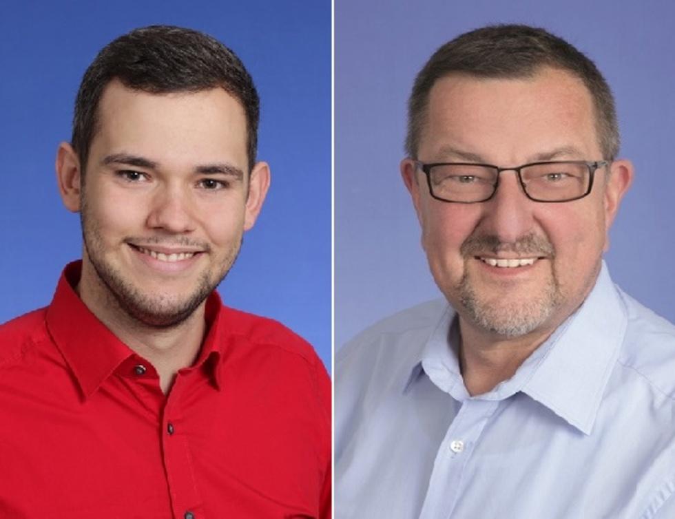 Tim Huß und Michael Siebel