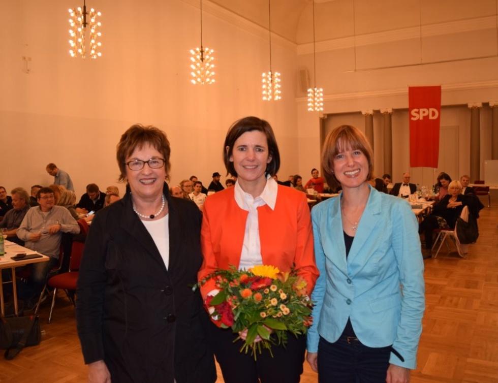 Brigitte Zypries, Christel Sprößler, Heike Hofmann