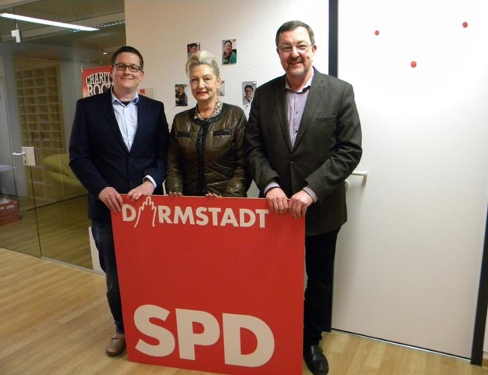 Moritz Röder, Dagmar Metzger und Michael Siebel