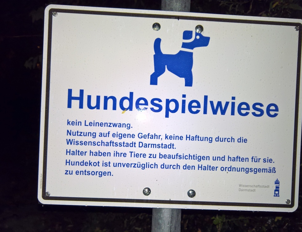 Hundespielwiese