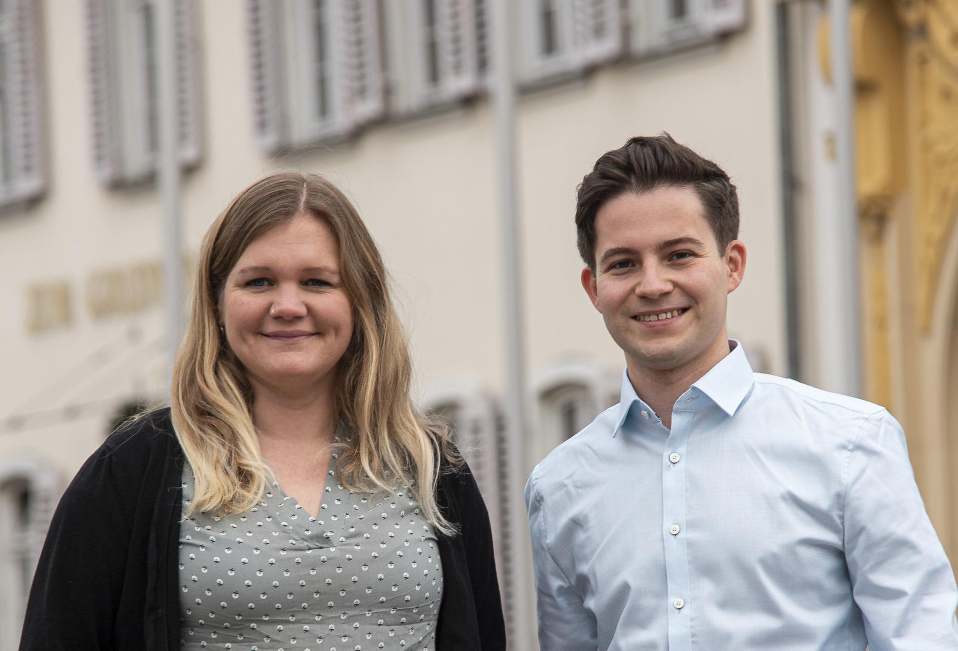 Samantha Härter und Tim Sackreuther